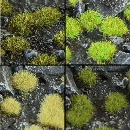 2mm Grass Tufts