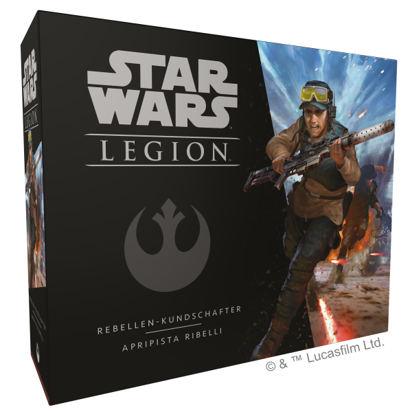 Star Wars: Legion - Rebellen Kundschafter Erweiterung DE/IT