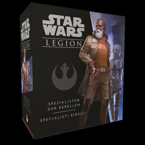 Star Wars: Legion - Spezialisten der Rebellen - Erweiterung DE/IT