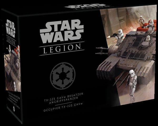 Star Wars: Legion - TX-225 GAVw Besatzer Angriffspanzer - Erweiterung DE/IT