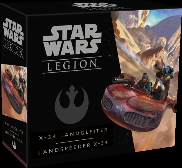 Star Wars: Legion - X-34 Landgleiter - Erweiterung DE/IT