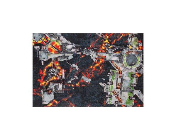 GameMat.eu - 6x4 G-Mat: Deathworld Forge - Limited Edition