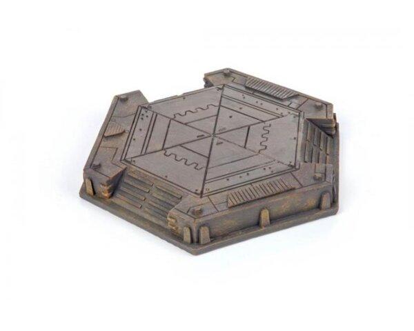 GameMat.eu - Industrial Landing Pad bemalt / painted