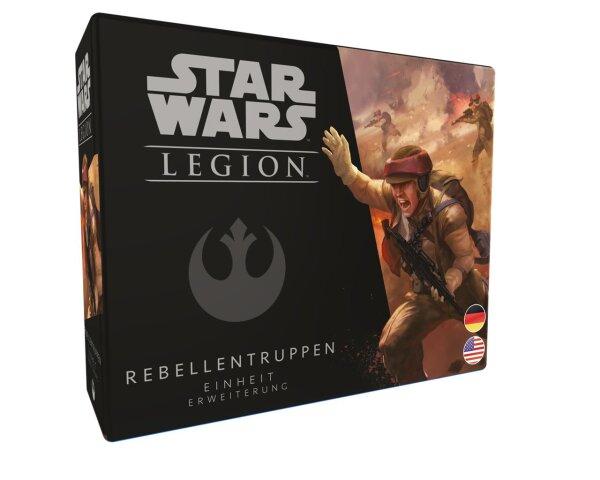Star Wars: Legion - Rebellentruppen - Einheit-Erweiterung DE/EN