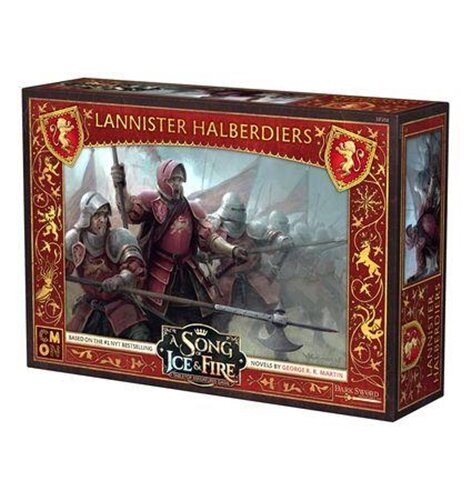 A Song of Ice & Fire - Lannister Halberdiers - English