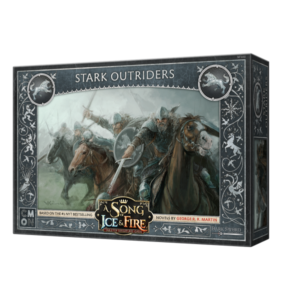 A Song of Ice & Fire - Stark Outriders - English