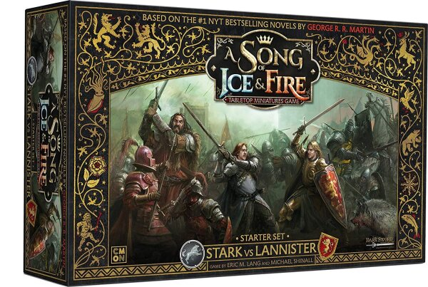A Song of Ice & Fire - Stark vs Lannister Starter Set - English