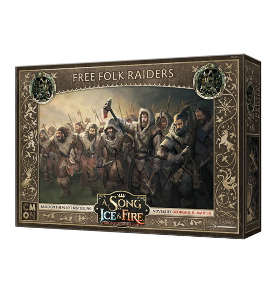 A Song of Ice & Fire - Free Folk Raiders - English