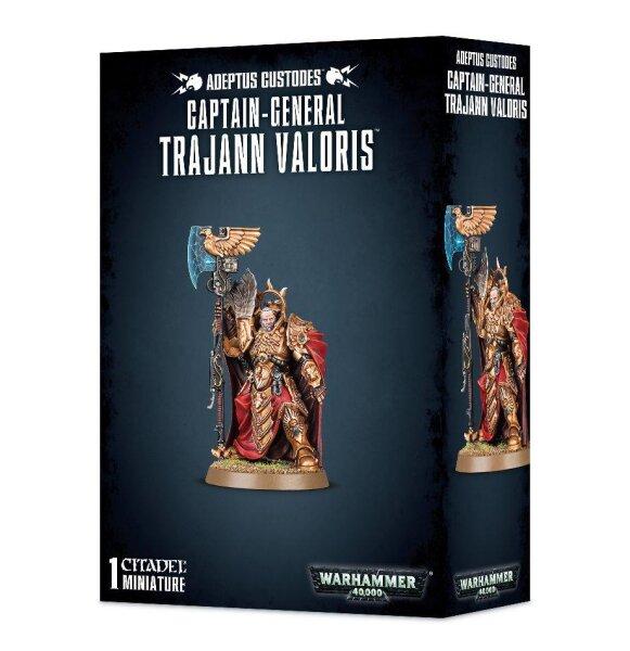 Adeptus Custodes - Captain-General Trajann Valoris