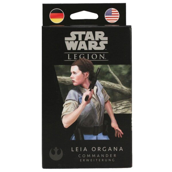Star Wars: Legion - Leia Organa - Commander-Erweiterung DE/EN