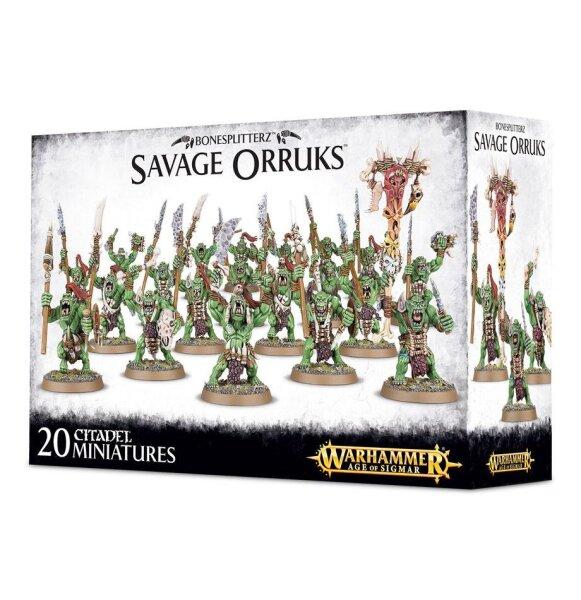 Bonesplitterz - Savage Orruks
