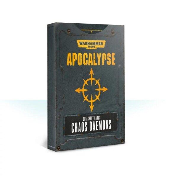 Apocalypse Datasheets: Chaos Daemons (Englisch)