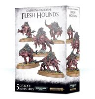 Daemons of Khorne - Flesh Hounds