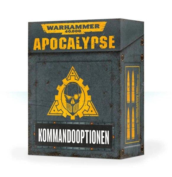 Apocalypse: Kommandooptionen (Deutsch)