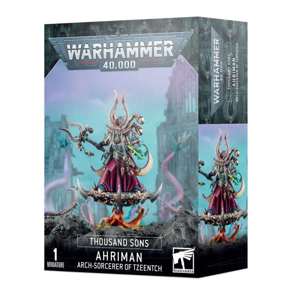 Thousand Sons - Ahriman, Arch-Sorcerer of Tzeentch