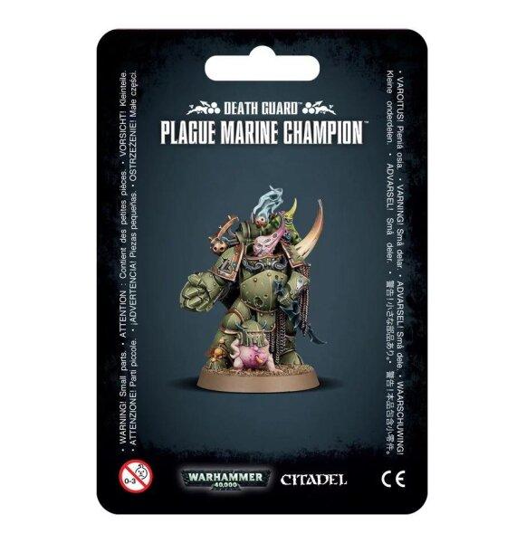 Death Guard - Plague Marine Champion