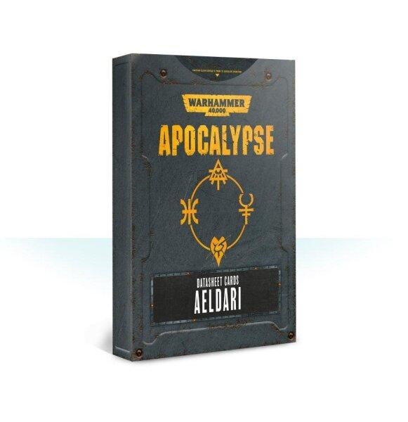Apocalypse Datasheet Cards: Aeldari (Englisch)