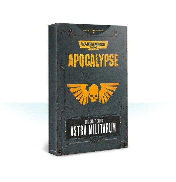 Apocalypse Datasheet Cards: Astra Militarum (Englisch)