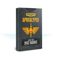 Apocalypse Datasheet Cards: Space Marines (Englisch)
