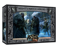 A Song of Ice & Fire - Nights Watch Heroes Box 1 -...