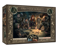 A Song of Ice & Fire - Free Folk Heroes Box 1 - English