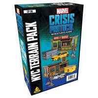 Marvel Crisis Protocol: NYC Terrain Expansion - English