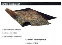 Playmats.eu - Vulcanic rubber Play Mat - 36x36 inches