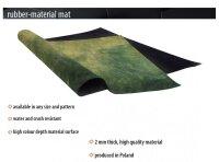 Playmats.eu - Forest Moss rubber Play Mat - 36x36 inches