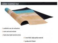Playmats.eu - Long Beach rubber Play Mat - 72x48 inches