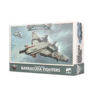 Aeronautica Imperialis: Barracuda Fighters der Tau-Luftkaste