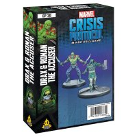 Marvel Crisis Protocol: Drax and Ronan The Accuser - English