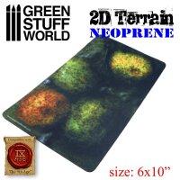 Green Stuff World - Neopren Gelände 2D - Wald mit 4...