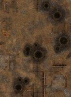 """GameMat.eu - 44""""x60"""" Fallout Zone Battle Mat"""