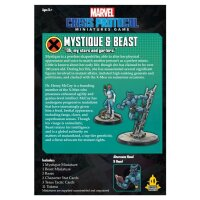 Marvel Crisis Protocol: Mystique and Beast - English