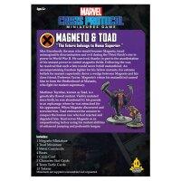 Marvel Crisis Protocol: Magneto and Toad - English