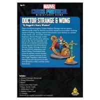 Marvel Crisis Protocol: Dr. Strange & Wong - English