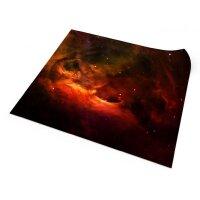 Playmats.eu - Red Nebula One-sided rubber Play Mat -...