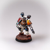Space Marines - Imperial Fists - Apothecary - gut bemalt