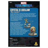 Marvel Crisis Protocol: Crystal & Lockjaw - Englisch
