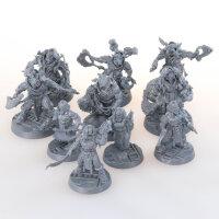 Necromunda - 10 Corpse Grinder - unbemalt