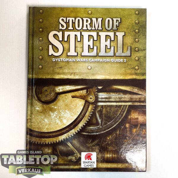 Dystopian Wars - Campaign Book: Storm of Steel (Englisch)