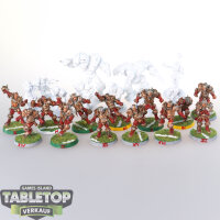 Blood Bowl - 23 Blood Bowl Willyminiatures - teilweise...