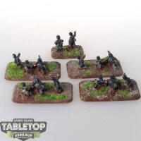 Flames of War - German Machine Gun Platoon - bemalt