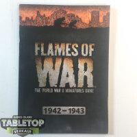 Flames of War - Rulebook The World War II Miniatures -...