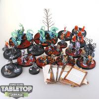 The Other Side Miniaturen Sammlung - teilweise bemalt
