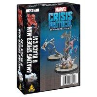 Marvel Crisis Protocol: Spider-Man & Black Cat Pack -...