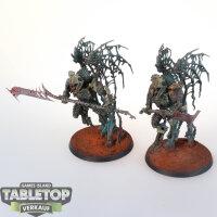 Ossiarch Bonereapers - 2 Morghast Archai - gut bemalt