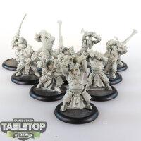 Hordes - Trollbloods - Fennblade Unit - unbemalt