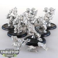 Hordes - Trollbloods - Trollkin Champions - unbemalt