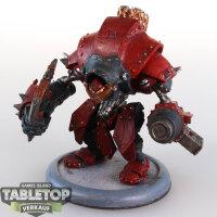 Khador - Destroyer Heavy Warjack - bemalt
